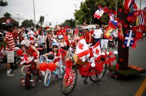 Holidays Canada Day Parade