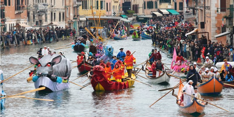 Holidays In Venice - Carnivals