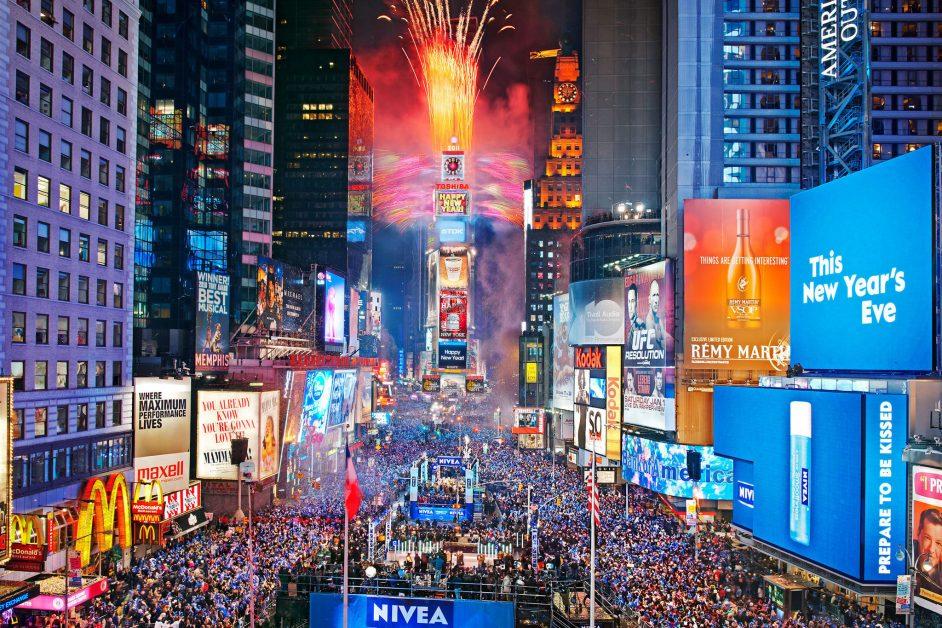 New York holidays - Celebrating New Years Eve.com