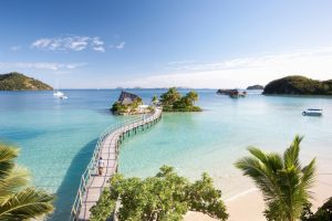 Vacation on Fiji Island