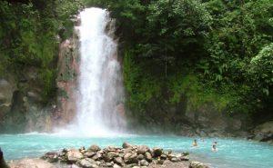 Swimmable Waterfalls